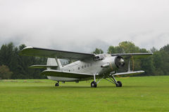 Διπλό κατάστρωμα - πρότυπο Biplane - αεροσκάφη Στοκ εικόνα με δικαίωμα ελεύθερης χρήσης