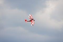 Διπλό κατάστρωμα - πρότυπο Biplane - αεροσκάφη Στοκ Φωτογραφία