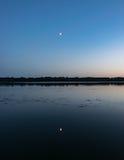 Διπλό φεγγάρι Στοκ Εικόνες