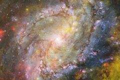 Δισεκατομμύρια των γαλαξιών στον κόσμο abstract background space απεικόνιση αποθεμάτων