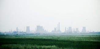 διυλιστήριο πετρελαίου Στοκ φωτογραφίες με δικαίωμα ελεύθερης χρήσης