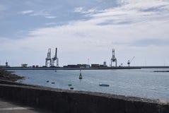 Διυλιστήριο πετρελαίου Arrecife Στοκ Εικόνες