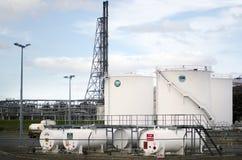Διυλιστήριο πετρελαίου σημείου Marsden Στοκ φωτογραφία με δικαίωμα ελεύθερης χρήσης