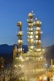 Διυλιστήριο πετρελαίου τη νύχτα, Burnaby στοκ φωτογραφίες με δικαίωμα ελεύθερης χρήσης