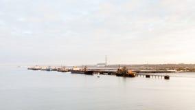 Διυλιστήριο πετρελαίου Fawley Στοκ Φωτογραφίες