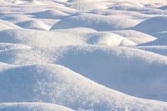 Διόγκωση χιονιού Στοκ Εικόνες
