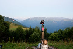 Διόπτρες Statsionalny στα βουνά Arkhyz Στοκ εικόνες με δικαίωμα ελεύθερης χρήσης