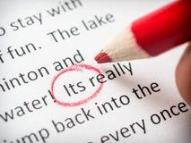 Διόρθωση δοκιμίων του λάθους του