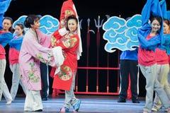Διδάξτε από το ένταλμα και το παλτό παράδειγμα-Jiangxi OperaBlue Στοκ Φωτογραφία