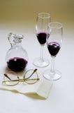δοκιμάζοντας κρασί Στοκ εικόνα με δικαίωμα ελεύθερης χρήσης