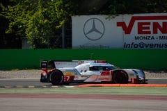 Δοκιμή 2015 ε-Tron Quattro LMP1 Monza Audi R18 Στοκ φωτογραφίες με δικαίωμα ελεύθερης χρήσης
