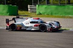Δοκιμή 2015 ε-Tron Quattro LMP1 Monza Audi R18 Στοκ φωτογραφία με δικαίωμα ελεύθερης χρήσης