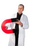 δοκιμή καθηγητή μαγνητισμ& Στοκ φωτογραφία με δικαίωμα ελεύθερης χρήσης