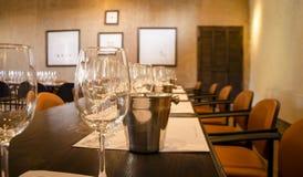 Δοκιμή κρασιού Στοκ Εικόνες
