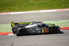 Δοκιμή πρωτοτύπων αγώνα ByKolles LMP1 σε Monza Στοκ εικόνες με δικαίωμα ελεύθερης χρήσης