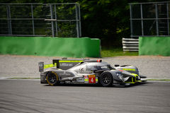 Δοκιμή πρωτοτύπων αγώνα ByKolles LMP1 σε Monza Στοκ εικόνα με δικαίωμα ελεύθερης χρήσης