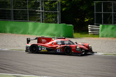 Δοκιμή πρωτοτύπων Ligier LMP2 σε Monza Στοκ φωτογραφία με δικαίωμα ελεύθερης χρήσης