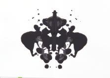 Δοκιμή Rorschach Στοκ Εικόνες