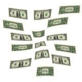 δολάρια ανασκόπησης εμεί Στοκ Εικόνες