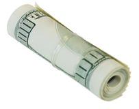 δολάρια δεσμών Στοκ Φωτογραφία