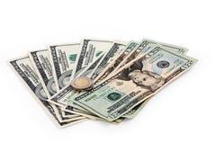 Δολάρια και ευρώ Στοκ φωτογραφίες με δικαίωμα ελεύθερης χρήσης