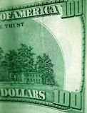 δολάρια λογαριασμών εκατό ένα Στοκ Εικόνα