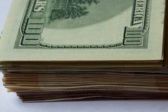 Δολάρια  100 $ ως ανασκόπηση  Στοκ εικόνες με δικαίωμα ελεύθερης χρήσης