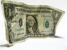 δολάριο ένα εμείς στοκ φωτογραφία με δικαίωμα ελεύθερης χρήσης