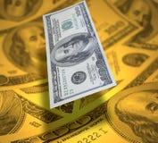 δολάριο ανασκόπησης στοκ εικόνα με δικαίωμα ελεύθερης χρήσης