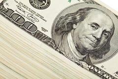 δολάριο δεσμών τραπεζογραμματίων Στοκ φωτογραφία με δικαίωμα ελεύθερης χρήσης