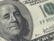 δολάριο εκατό λογαριασμών στοκ εικόνα με δικαίωμα ελεύθερης χρήσης