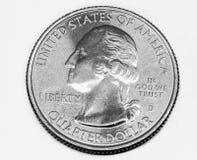 Δολάριο Ηνωμένων τετάρτων Στοκ Εικόνες
