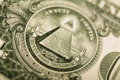 δολάριο λεπτομέρειας κ& στοκ εικόνα