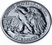 δολάριο μισό στοκ εικόνα με δικαίωμα ελεύθερης χρήσης