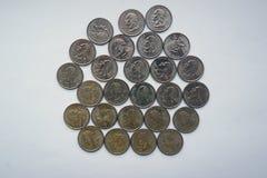Δολάριο τετάρτων - τέταρτο της Ουάσιγκτον Στοκ Φωτογραφίες