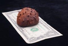 δολάριο τραπεζογραμματίων στοκ εικόνα