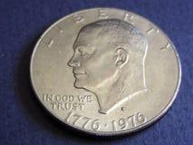 δολάριο Eisenhower Στοκ φωτογραφίες με δικαίωμα ελεύθερης χρήσης