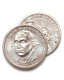 δολάριο George Ουάσιγκτον 6 νομισμάτων Στοκ φωτογραφίες με δικαίωμα ελεύθερης χρήσης
