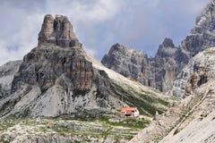 δολομίτες ιταλικά στοκ φωτογραφία με δικαίωμα ελεύθερης χρήσης