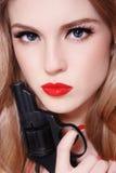 δολοφονία ομορφιάς Στοκ φωτογραφία με δικαίωμα ελεύθερης χρήσης