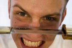 δολοφονικές σκέψεις Στοκ φωτογραφία με δικαίωμα ελεύθερης χρήσης