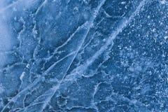 Δομή ή σύσταση πάγου στα μπλε χρώματα κιρκιριών Στοκ εικόνα με δικαίωμα ελεύθερης χρήσης