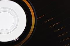Δομή ενός ROM dvd Στοκ Εικόνες