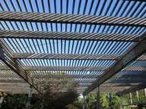 Δομή δενδρολογικών κήπων JC Raulston Στοκ Φωτογραφία