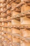 Δομή και σύσταση των νέων κενών ξύλινων παλετών Στοκ Εικόνες
