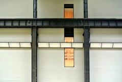 Δομή μετάλλων μιας πρόσοψης Στοκ Εικόνες