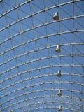 Δομή μετάλλων και γυαλιού Στοκ εικόνες με δικαίωμα ελεύθερης χρήσης