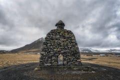 Δομή πετρών Bà ¡ rður Snæfellsà ¡ s, Ισλανδία Στοκ Φωτογραφίες