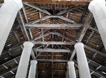 Δομή στεγών του παλαιού μουσουλμανικού τεμένους Pengkalan Kakap σε Merbok, Kedah Στοκ φωτογραφία με δικαίωμα ελεύθερης χρήσης