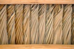 Δομή στεγών Tiki στοκ φωτογραφία με δικαίωμα ελεύθερης χρήσης